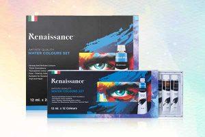ชุดสีน้ำ 12ml Renaissance