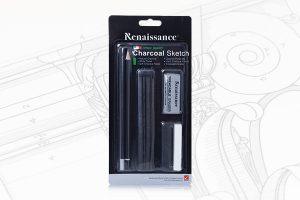 ดินสอดำ ชุดเซ็ทชาร์โคว Renaissance