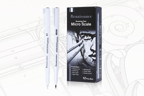 ปากกาตัดเส้น Renaissance
