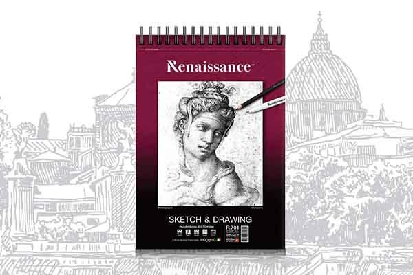 สมุดสเก็ตR701 Renaissance