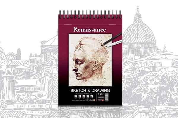 สมุดสเก็ตR702 Renaissance
