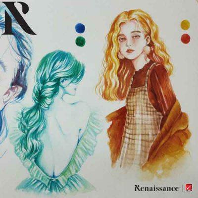 Renaissance สีน้ำ จับคู่สี